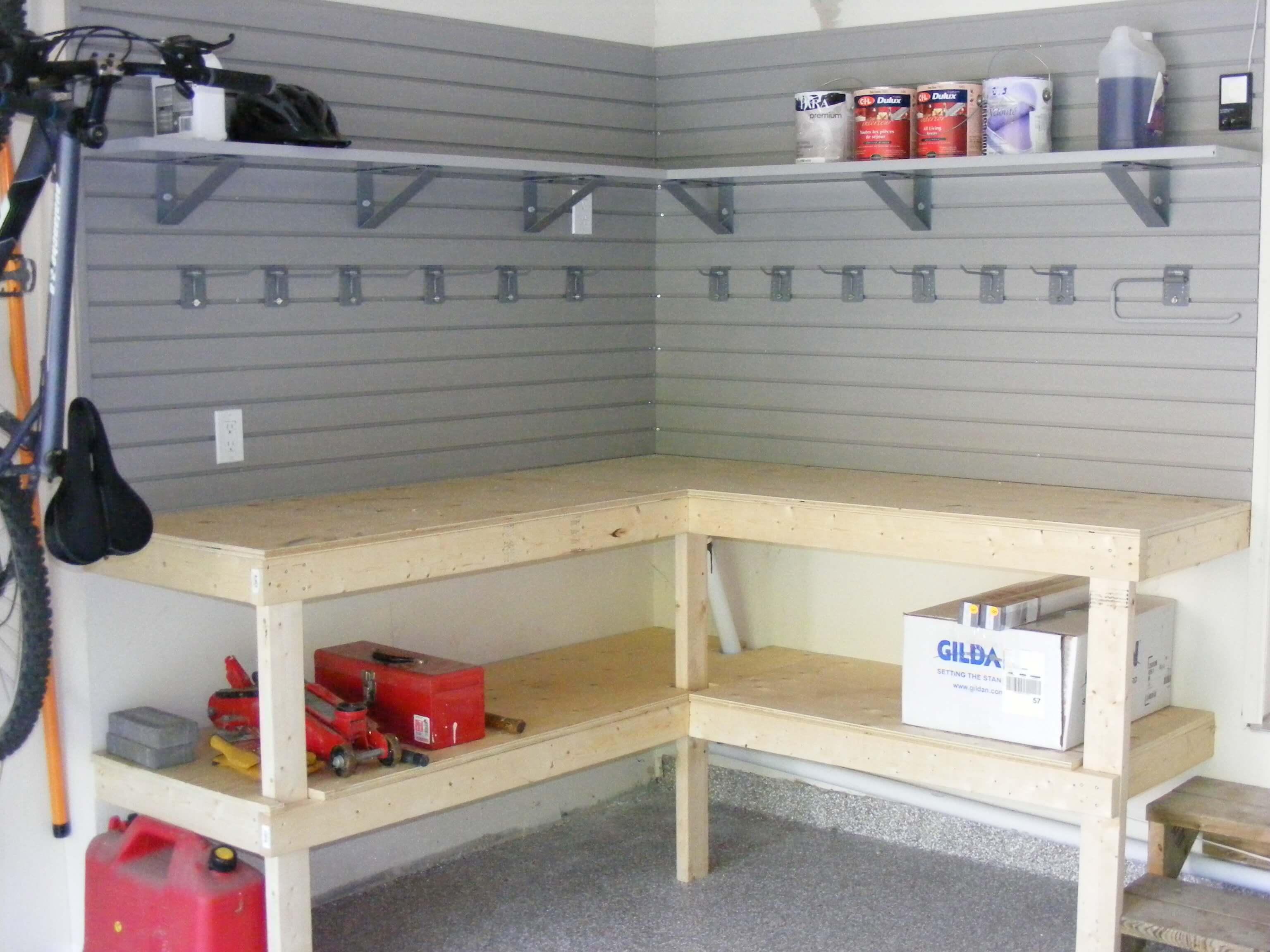 Garage Workbench Worke