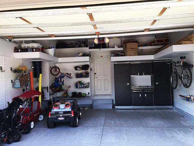 Garage Organization Garden Tools