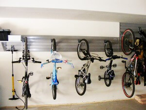 bike storage solutions - bicycle wall rack storage