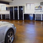 ctech cabinets black silver car finished floors drywall windows